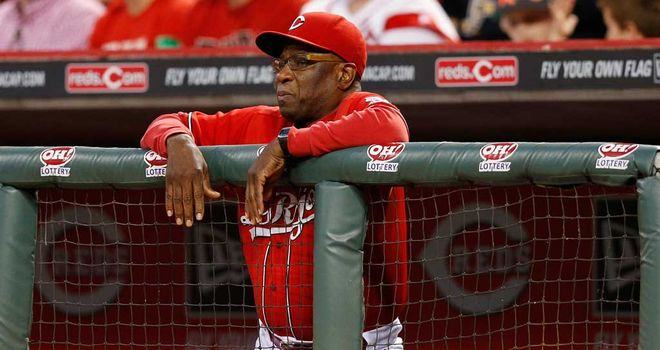 Dusty Baker: Six years in charge at Cincinnati