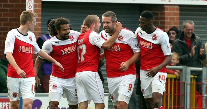 Jon Parkin: Celebrating late equaliser
