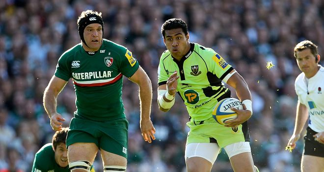 George Pisi: Back in Northampton's starting XV for the derby battle this weekend