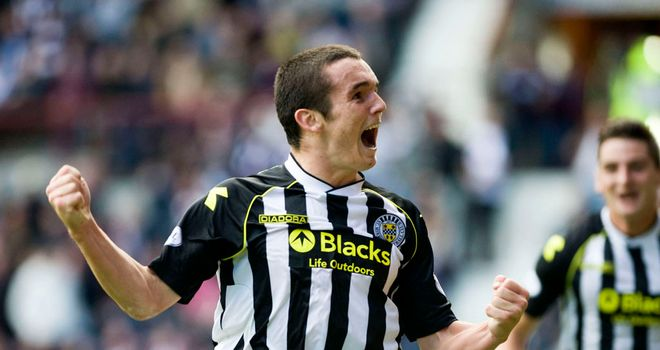 John McGinn: Opened the scoring for St Mirren