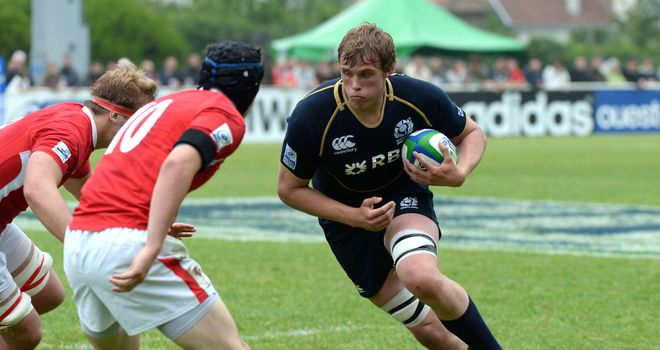 Jonny Gray: One of five uncapped players in Scotland's 41-strong training squad