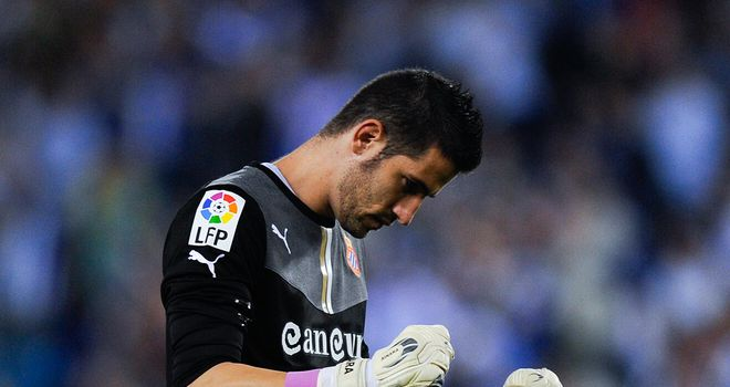 Kiko Casilla: Focused on agreeing fresh terms at Espanyol