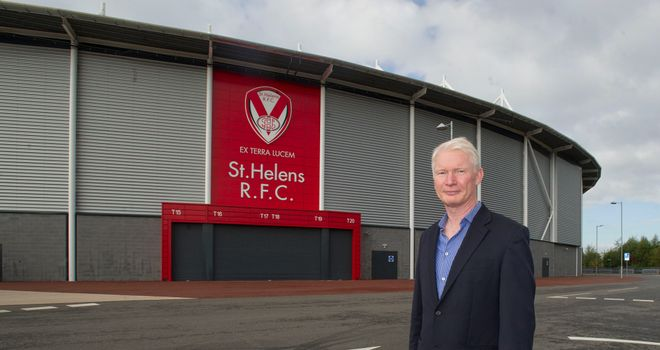 Eamonn McManus: Would support restructuring of Super League
