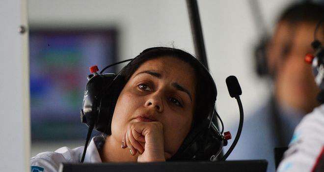 Monisha Kaltenborn: 'Very difficult to judge the lap times'