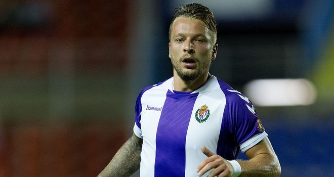 Patrick Ebert: Late equaliser for Valladolid