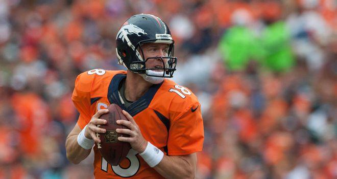 Peyton Manning: The veteran passer has been in superb form this season