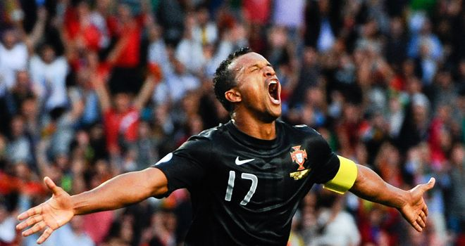Nani struck for Portugal in their victory over Luxembourg