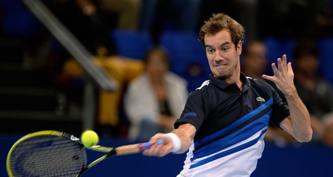 Richard Gasquet: Currently the final qualifier for the ATP World Tour Finals