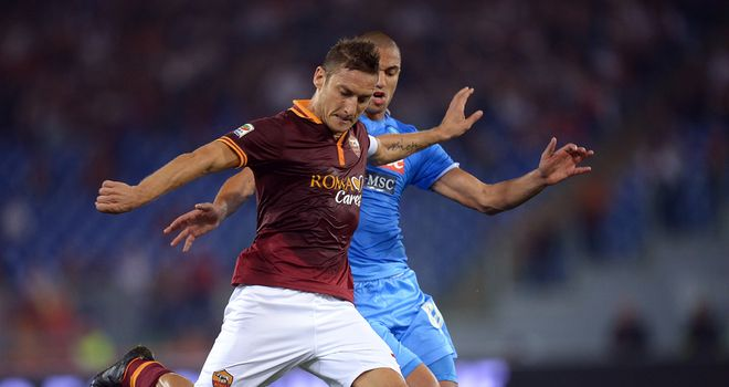 Francesco Totti: Returning for Roma
