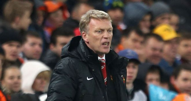 David Moyes saw his Manchester United team get a point at Shakhtar Donetsk