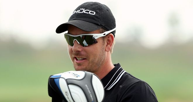 Henrik Stenson: Race to Dubai leader with two events remaining