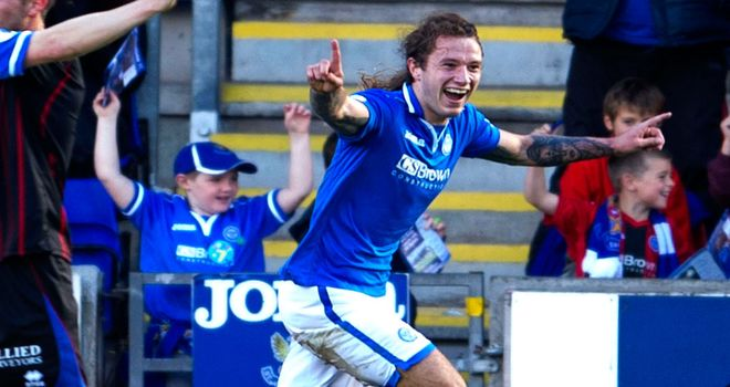 Stevie May: Inspired St Johnstone to 4-0 victory over Inverness