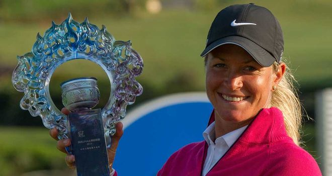 Suzann Pettersen: Fourth LPGA Tour victory of the season