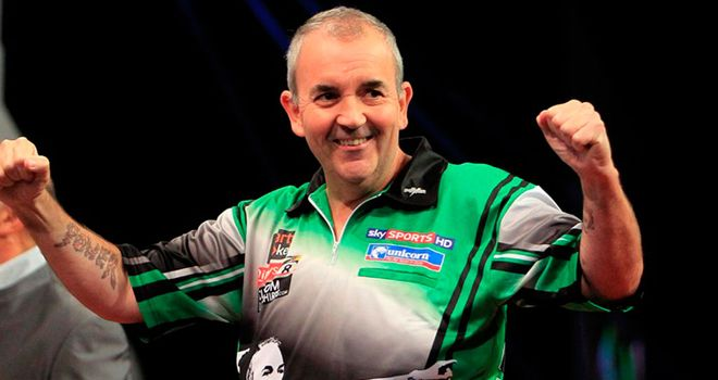 Phil Taylor: Stoke thrower is bidding for his 11th World Grand Prix title