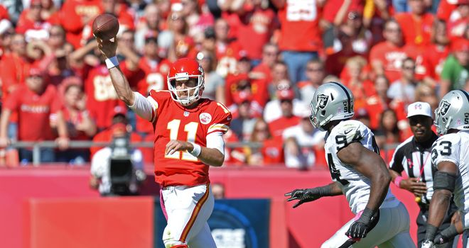 Alex Smith: Kansas City Chiefs quarterback maintained perfect record this season