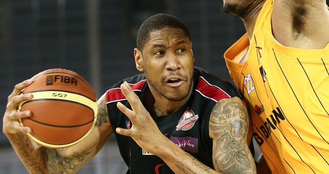 Andrew Sullivan: Leicester Riders player in BBL action