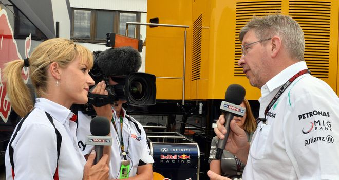 "Ross Brawn: Had a ""slightly different"" view to how Mercedes should be run"