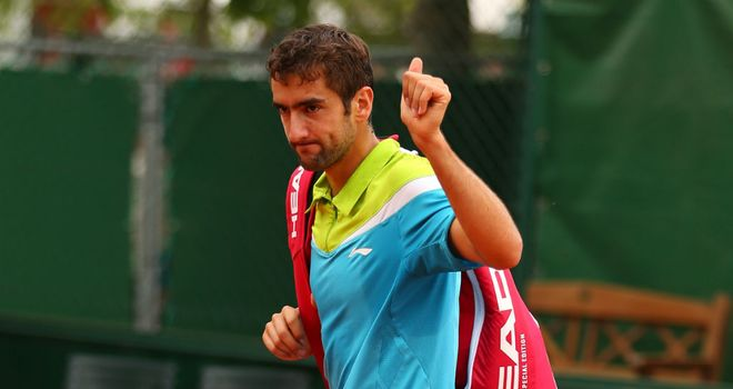 Marin Cilic: Delighted to be back on court after his doping ban
