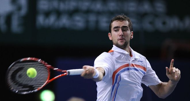 Marin Cilic: Made a winning return in Paris after serving doping ban