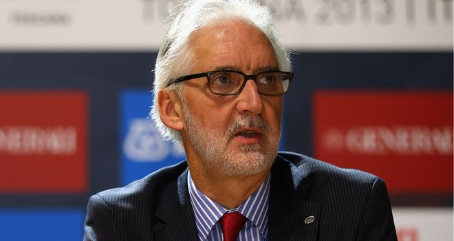 Brian Cookson has agreed to take a 24 per cent pay cut