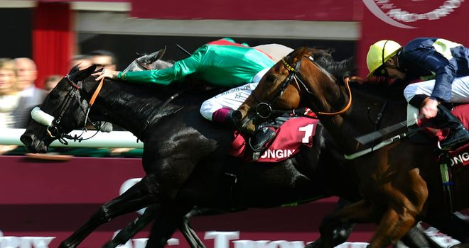 Dalkala comes out on top in a Longchamp thriller