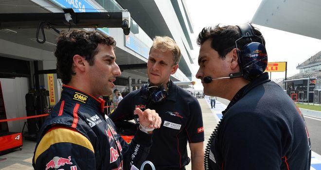 Daniel Ricciardo: Looking forward to comparison with Sebastian Vettel