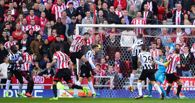 Police arrested 20 people when Sunderland hosted Newcastle in October