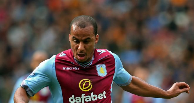 Gabriel Agbonlahor: Made a big impact on his return from injury