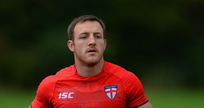 James Roby: Believes England can emulate Great Britain's 2006 win over Australia