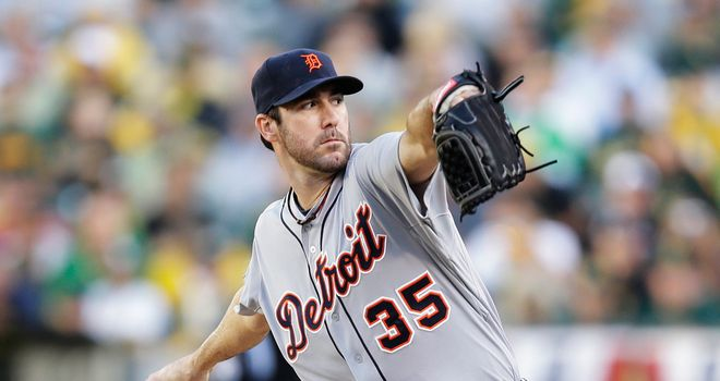 Justin Verlander: Hurled eight shutout innings