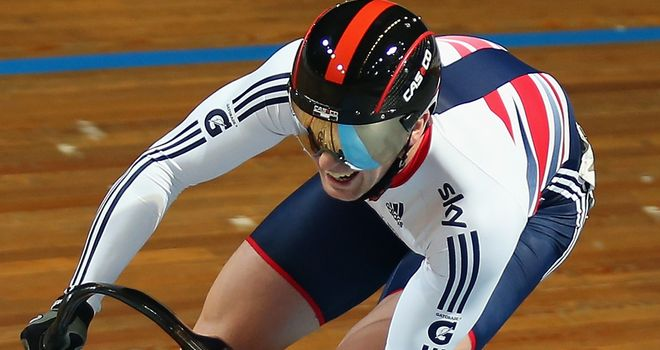 Jason Kenny claimed bronze in the men's sprint
