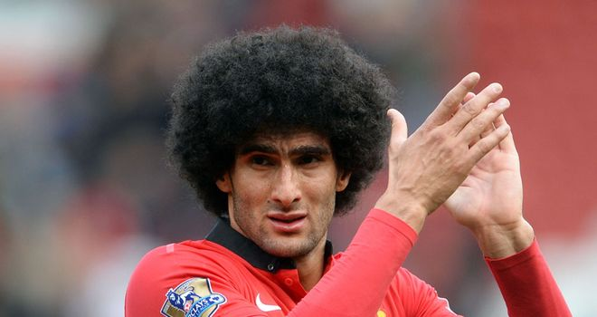 Marouane Fellaini: Manchester United midfielder has a back injury