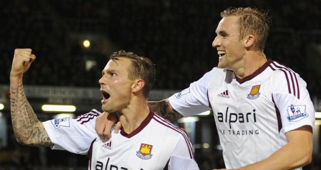 Matt Taylor and Jack Collison both struck from the spot