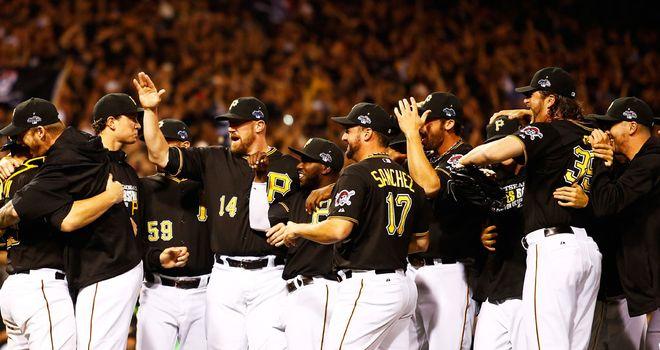 Pittsburgh celebrate first post-season win in 21 years