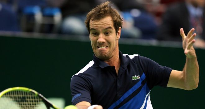 Richard Gasquet: Frenchman happy with serve during win over Teimuraz Gabashvili