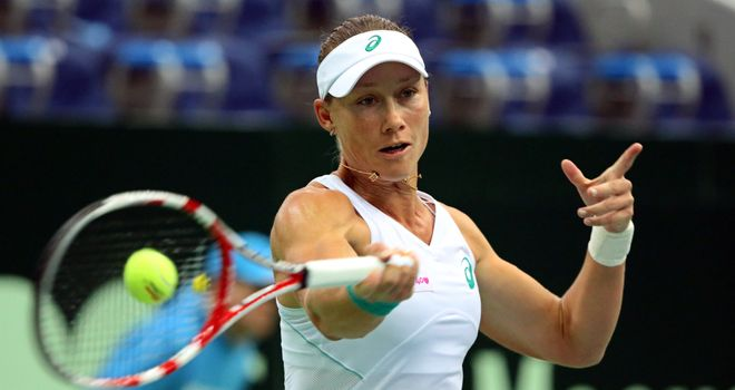 Sam Stosur: Australian extended winning streak to eight matches
