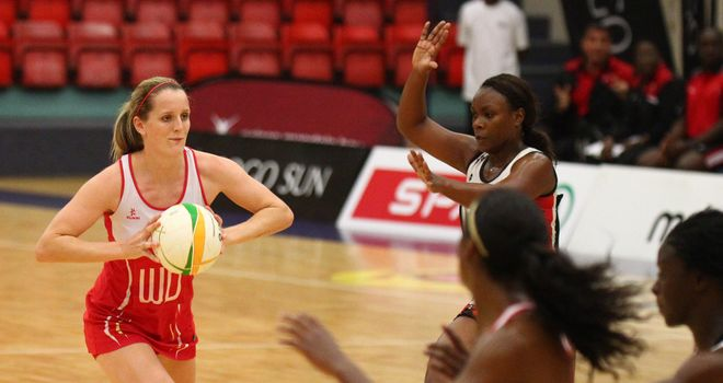 Sara Bayman impressed for England against Trinidad and Tobago
