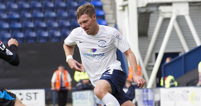Scott Laird: Has helped Preston to make an unbeaten start. Image credit: Dave Kendall/PNEFC