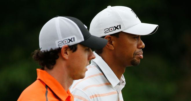 Rory McIlroy: Words of encouragement from Tiger Woods
