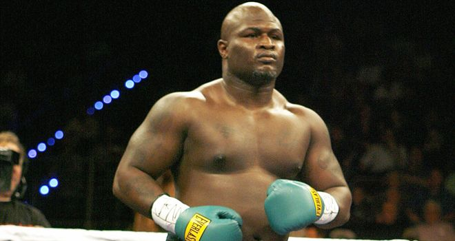 James Toney: Fighting in England for the first time in his career
