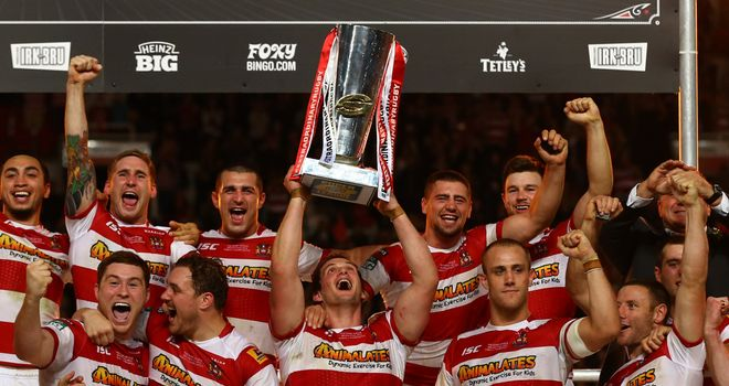 Wigan Warriors: Grand Final winners can be seen on Sky Sports until at least the end of the 2021 season