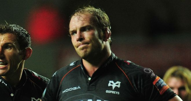 Alun Wyn Jones: Ospreys skipper could depart club next summer