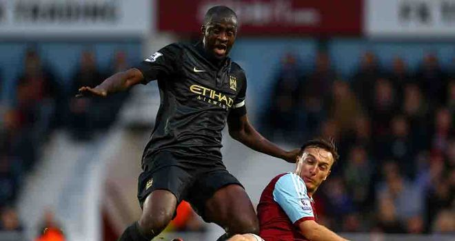 Yaya Toure: Back to the form which helped City win the title in 2011/12
