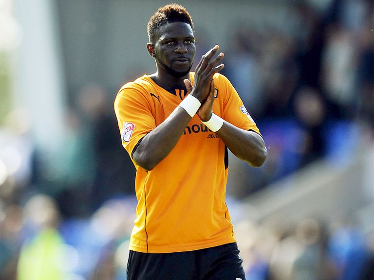 Bakary Sako: Netted a brace for Wolves