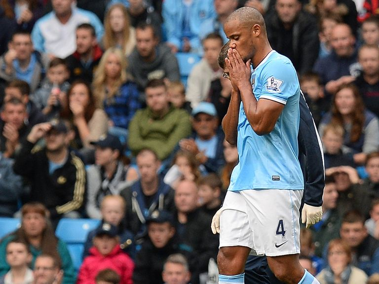 Vincent Kompany: Not taking fitness for granted