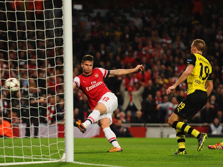 Arsenal will be looking for revenge against Dortmund