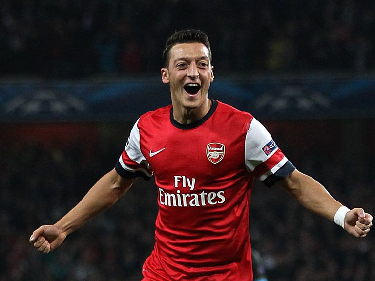 Mesut Ozil: Happy with Arsenal move