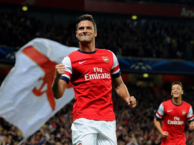 Olivier Giroud: Confident Arsenal will respond positively