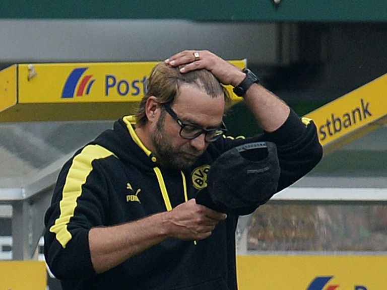 Jurgen Klopp: Dortmund rode their luck