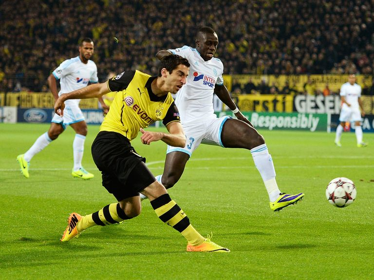 Marseille lost out to Borussia Dortmund